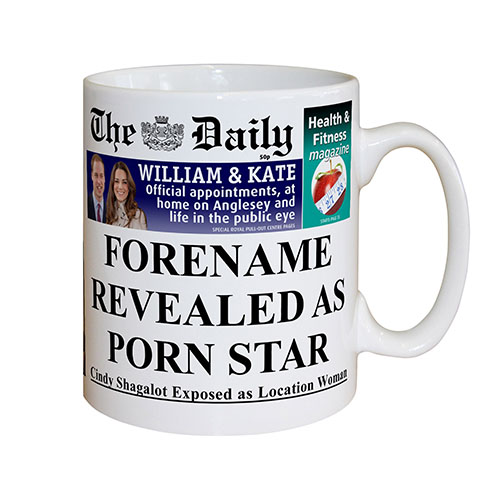 The Daily Female Pornstar Mug