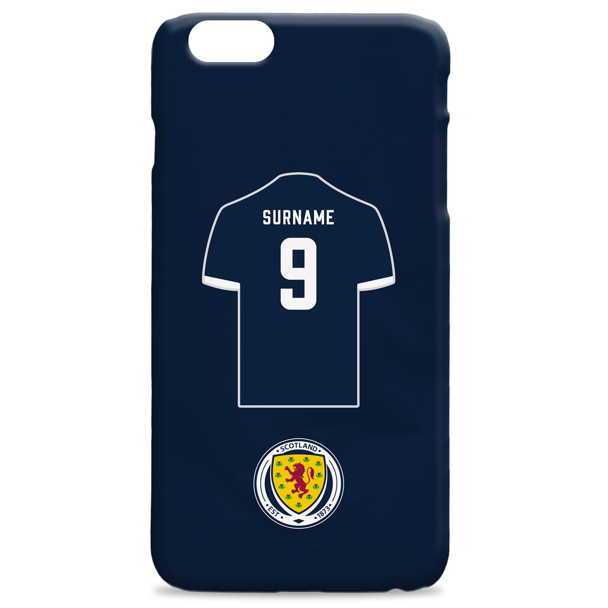 Scotland Shirt Hard Back Phone Case