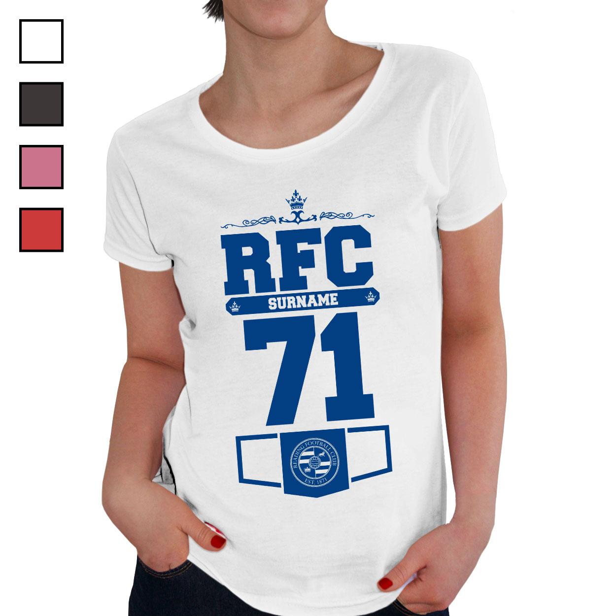 Reading FC Ladies Club T-Shirt