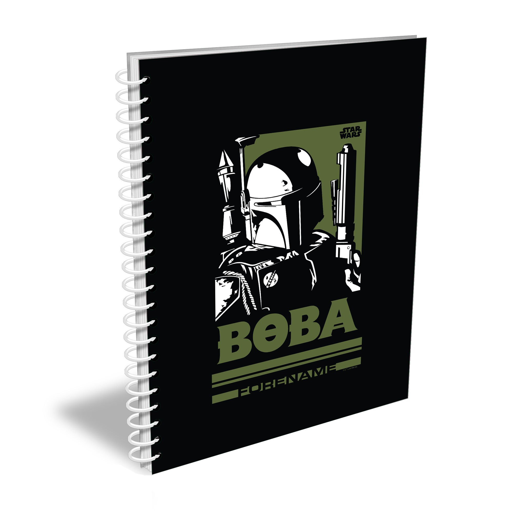 Star Wars Boba Pop Art A4 Notebook