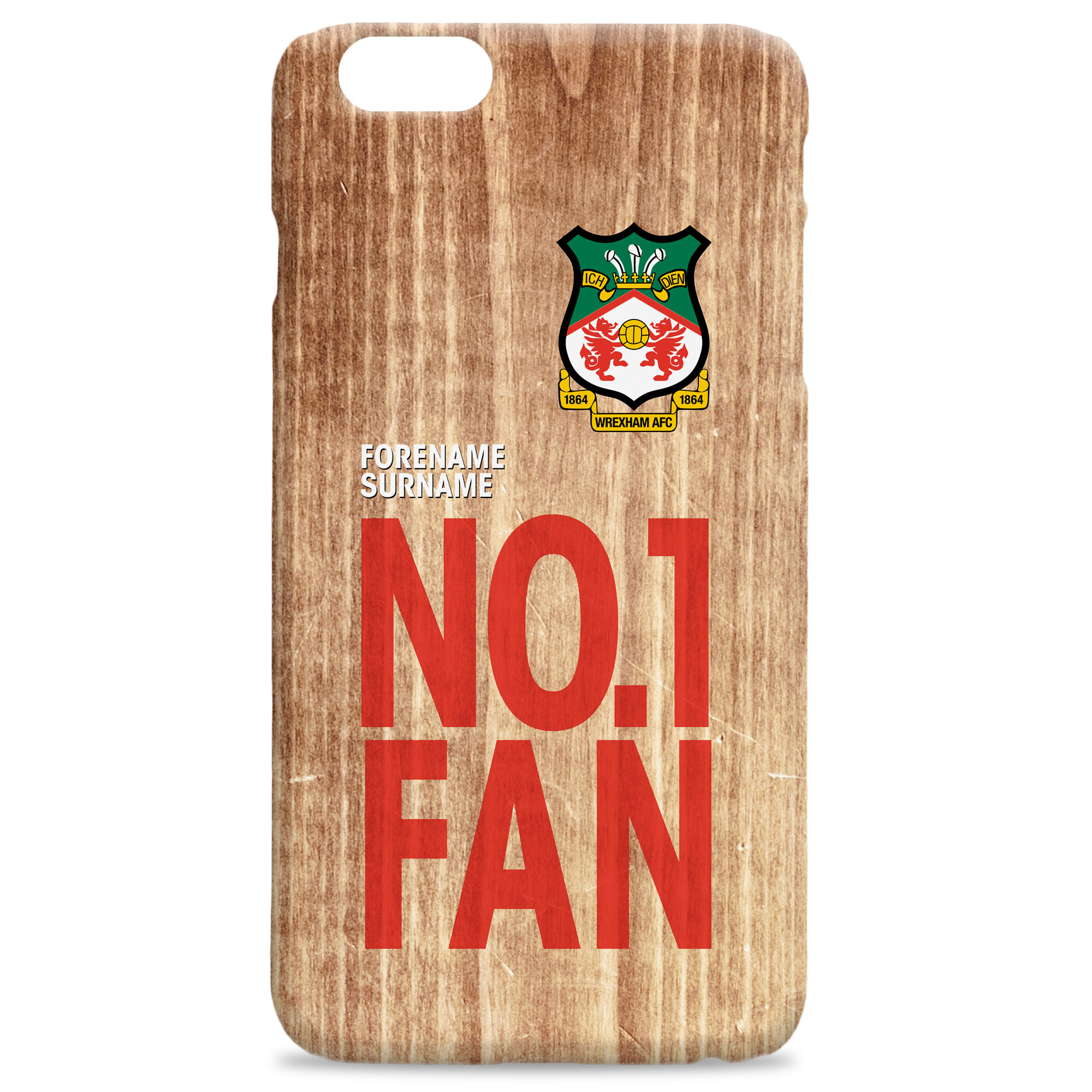 Wrexham AFC No 1 Fan Hard Back Phone Case