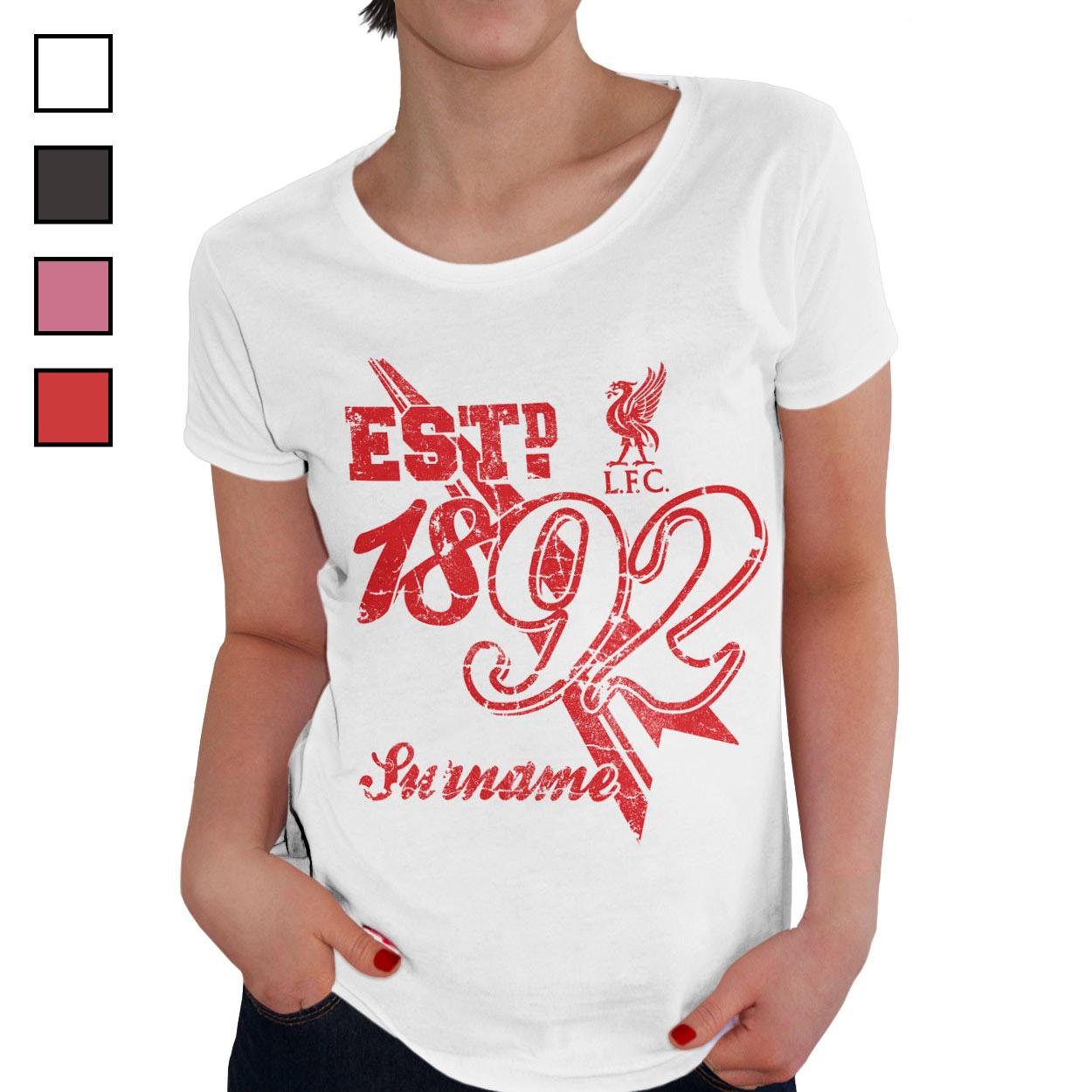 Liverpool FC Ladies Established T-Shirt