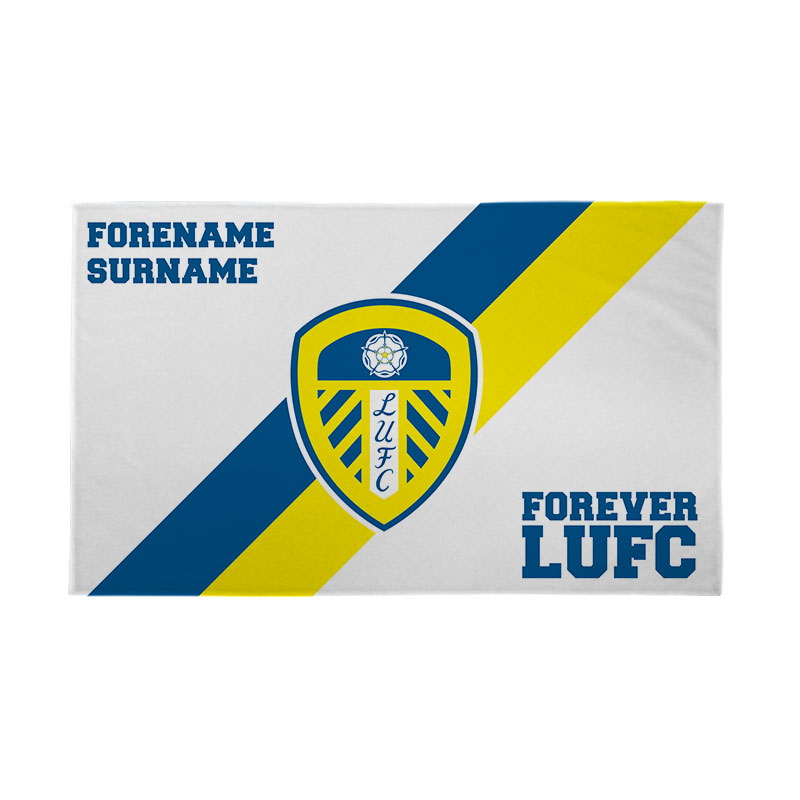 Leeds United FC Forever 5ft x 3ft Banner