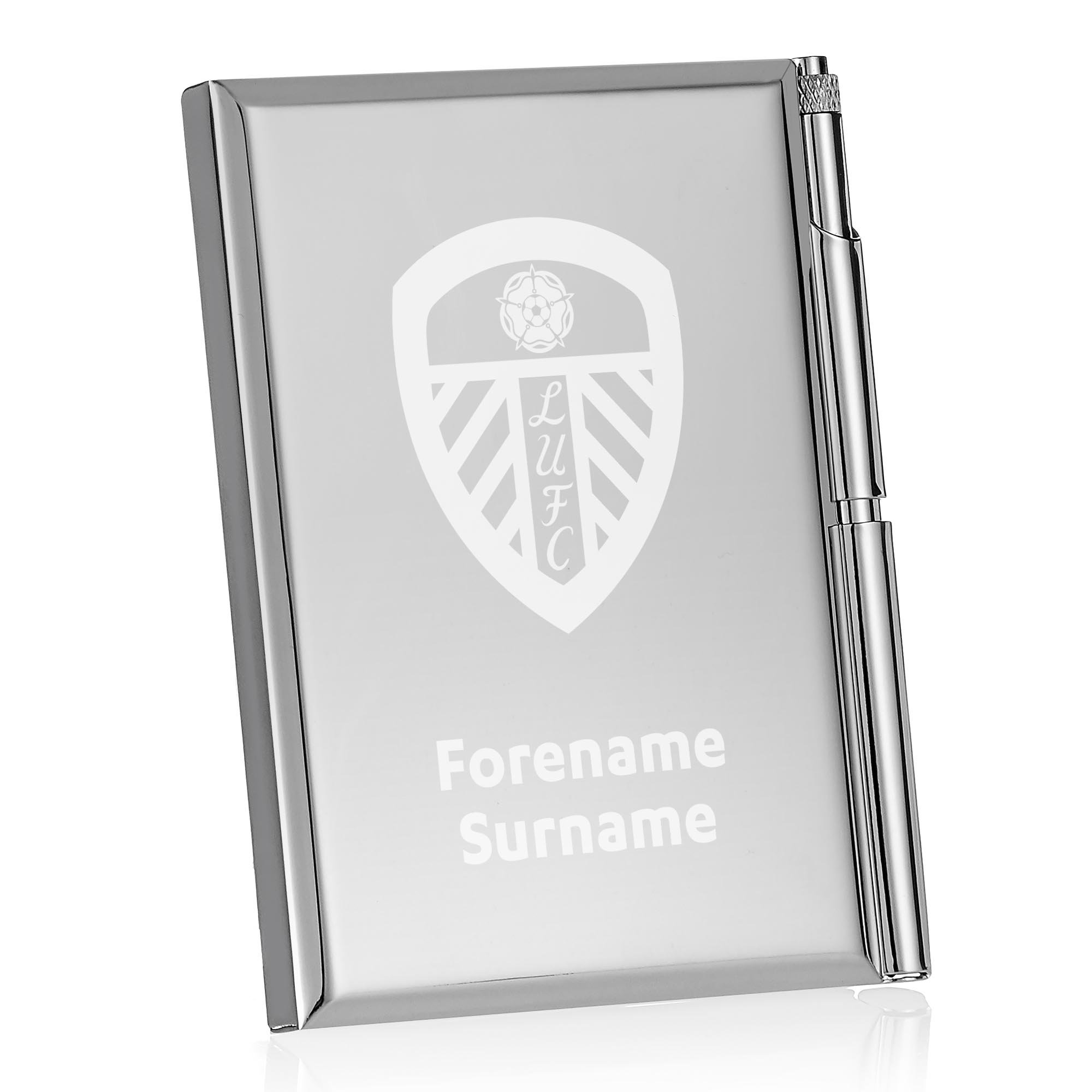Leeds United FC Crest Address Book