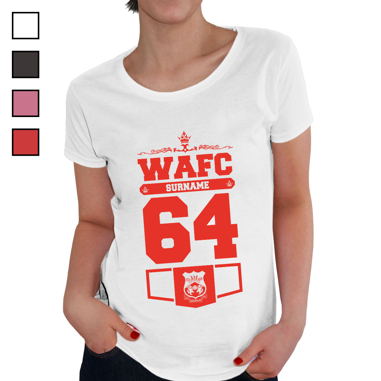 Wrexham AFC Ladies Club T-Shirt