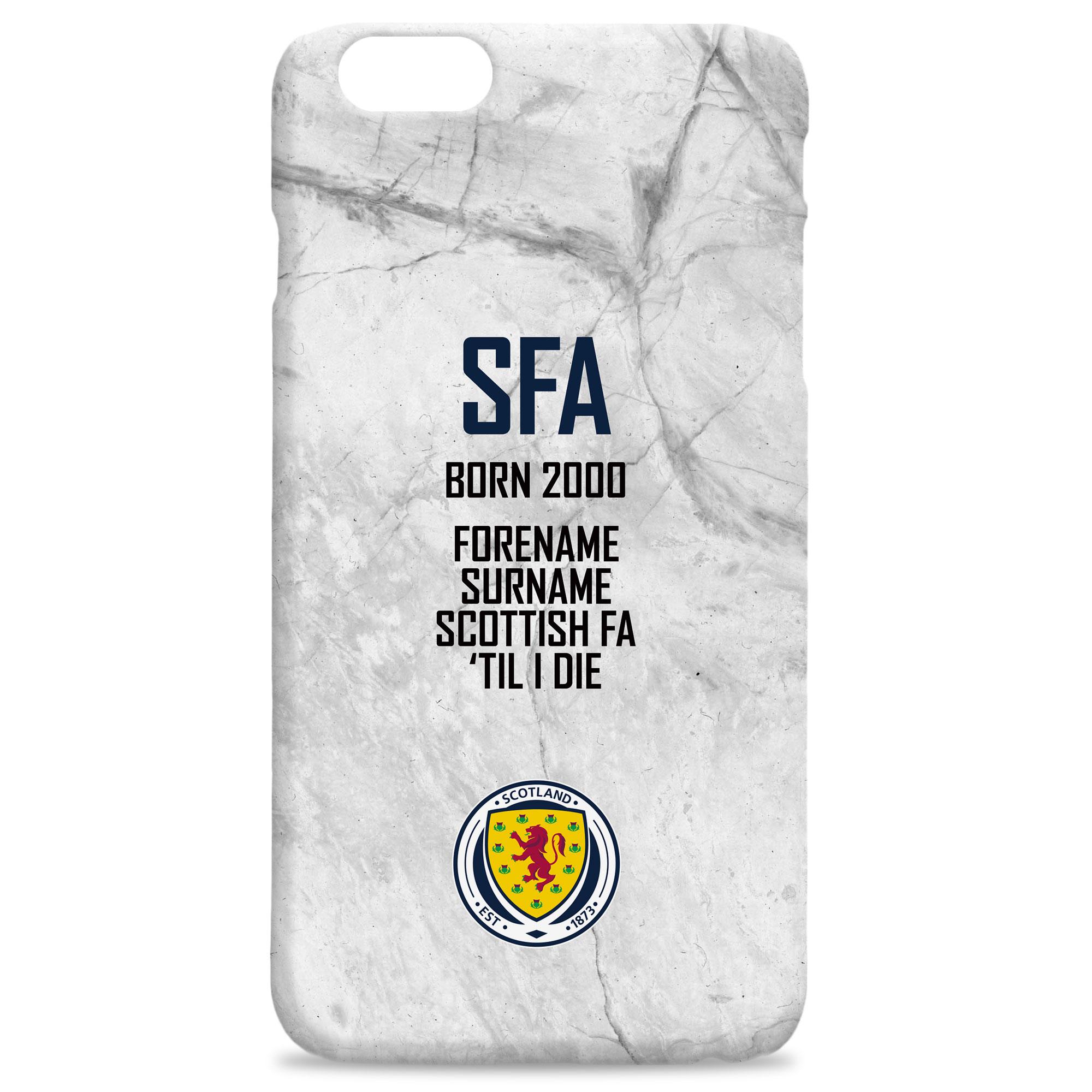 Scotland 'Til I Die Hard Back Phone Case