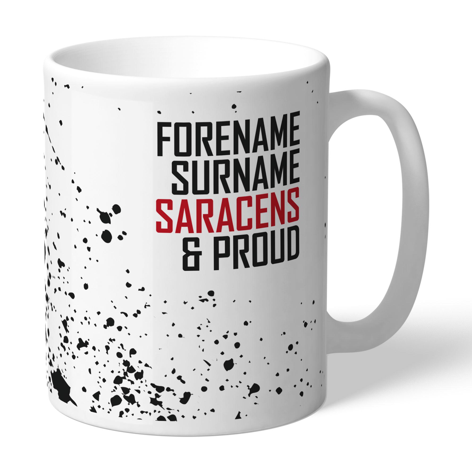 Saracens Proud Mug