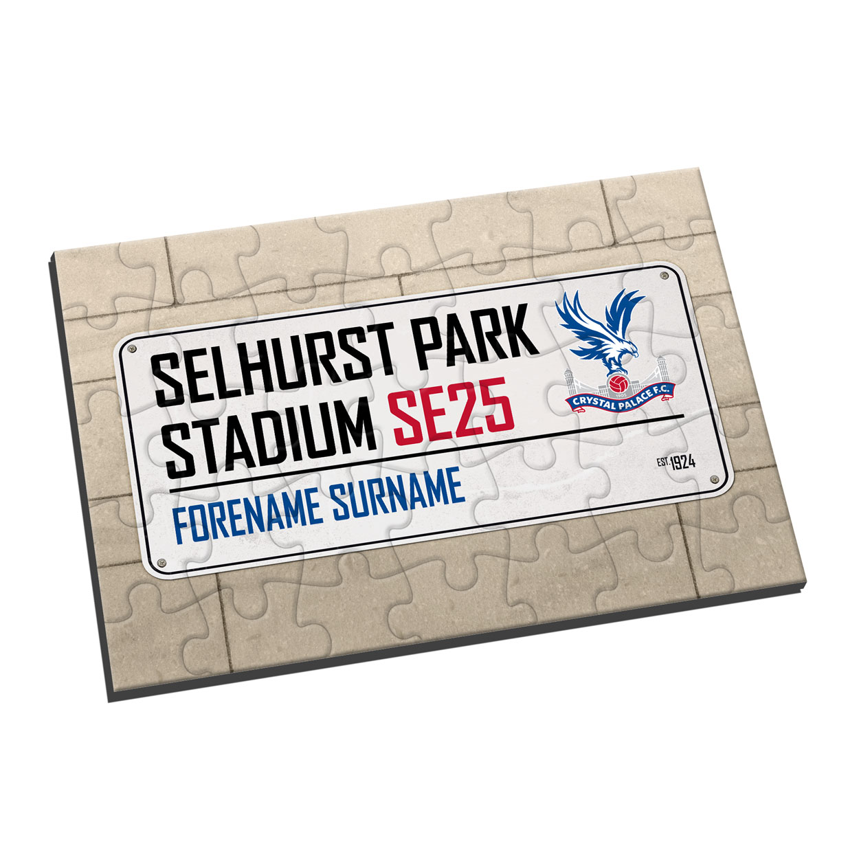 Crystal Palace FC Street Sign Jigsaw
