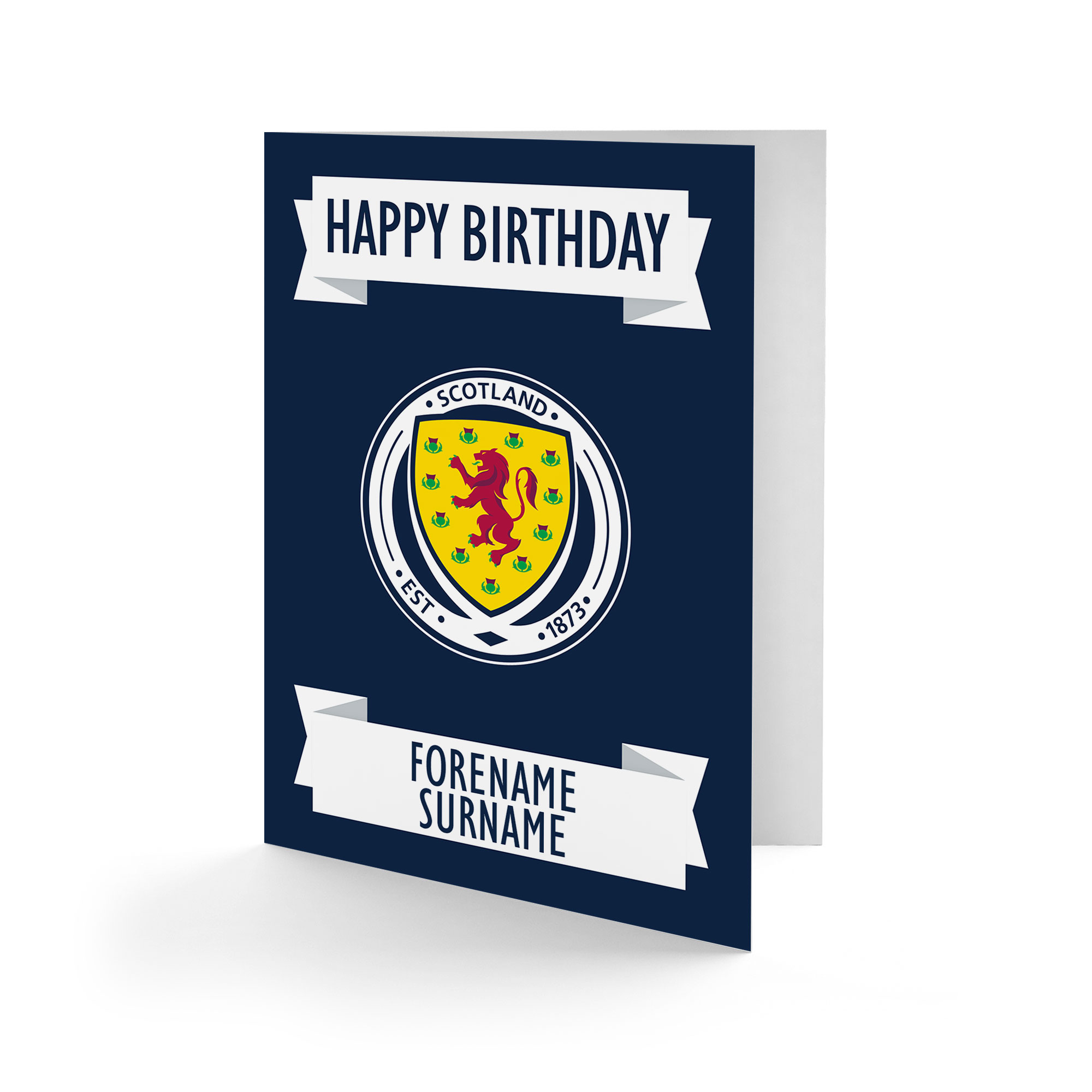 Scotland Crest Birthday Card