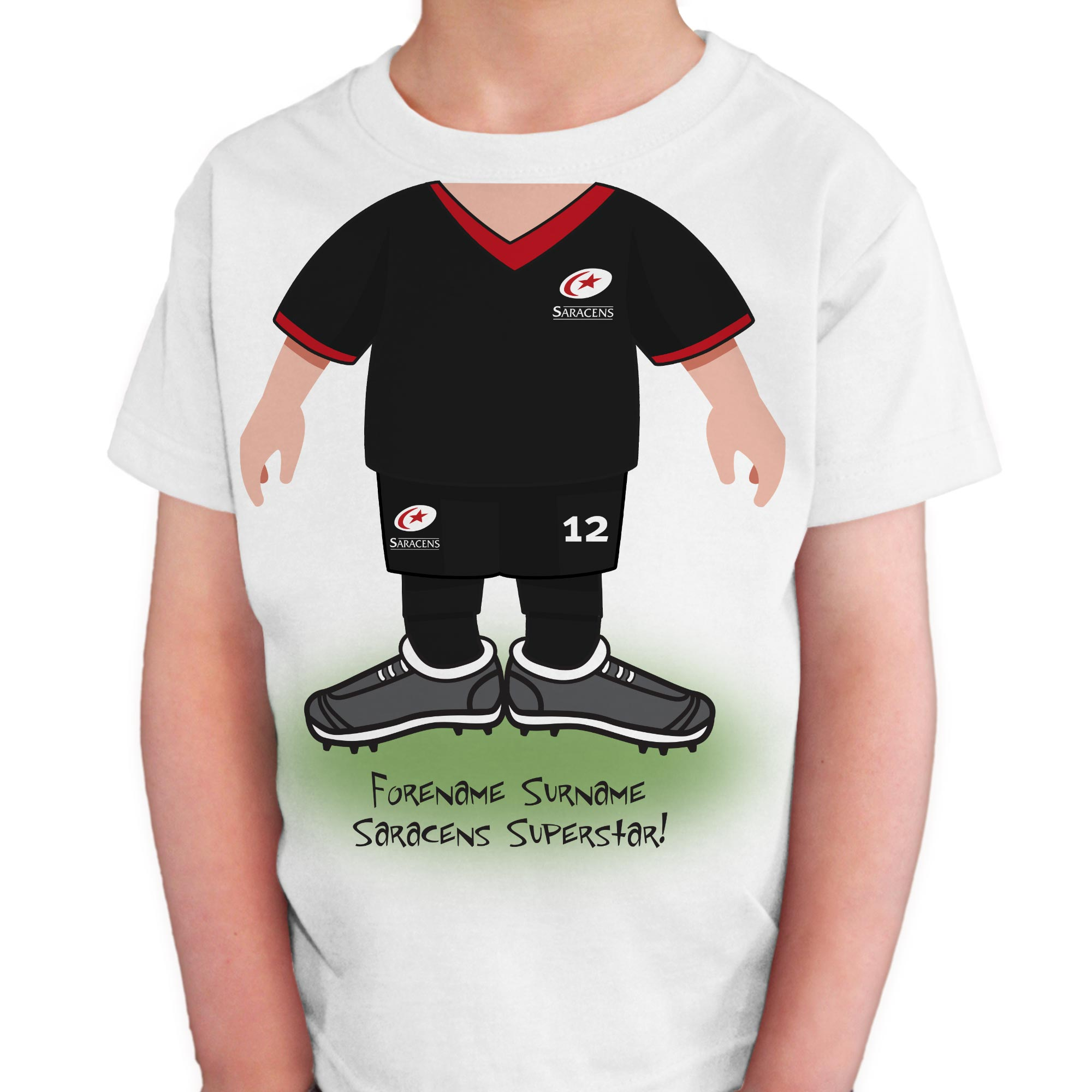 Saracens Kids Use Your Head T-Shirt