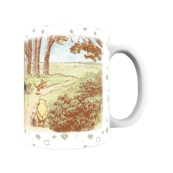 Disney Winnie The Pooh Woodland Scene Mug