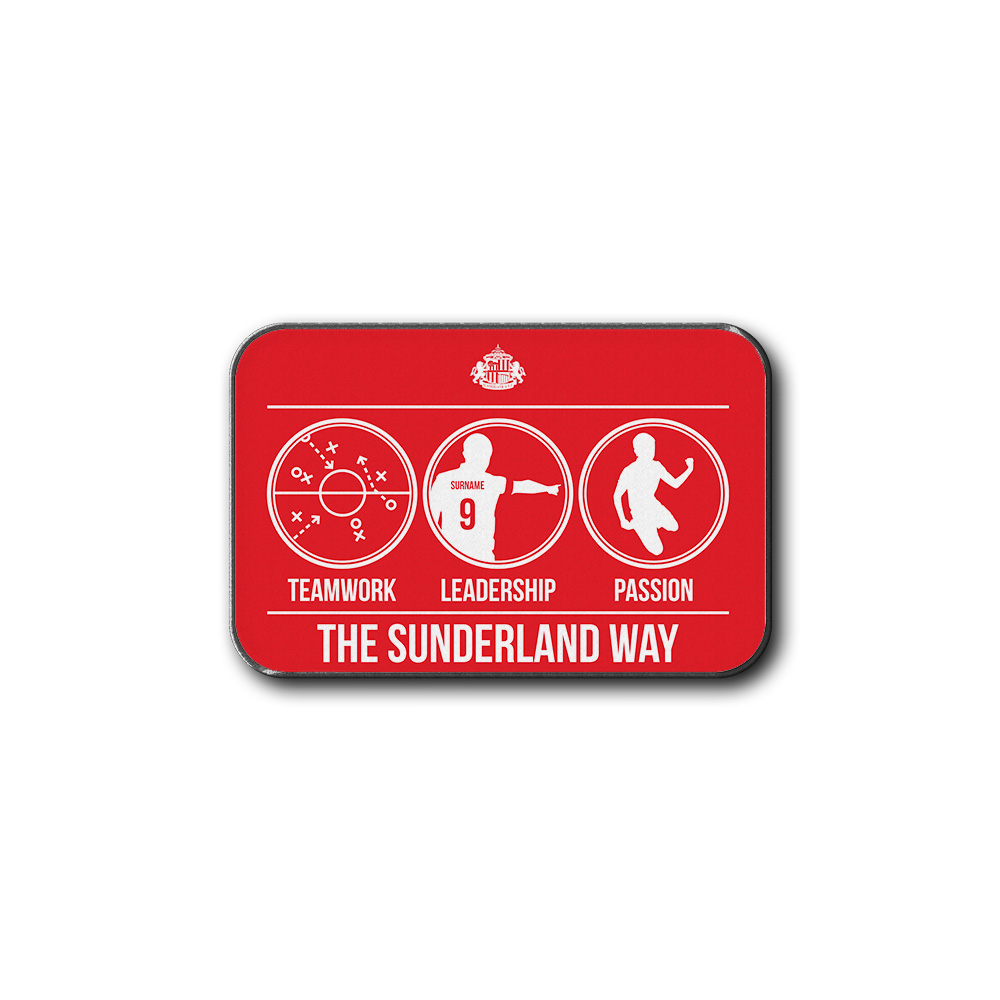 Sunderland AFC Way Rear Car Mat