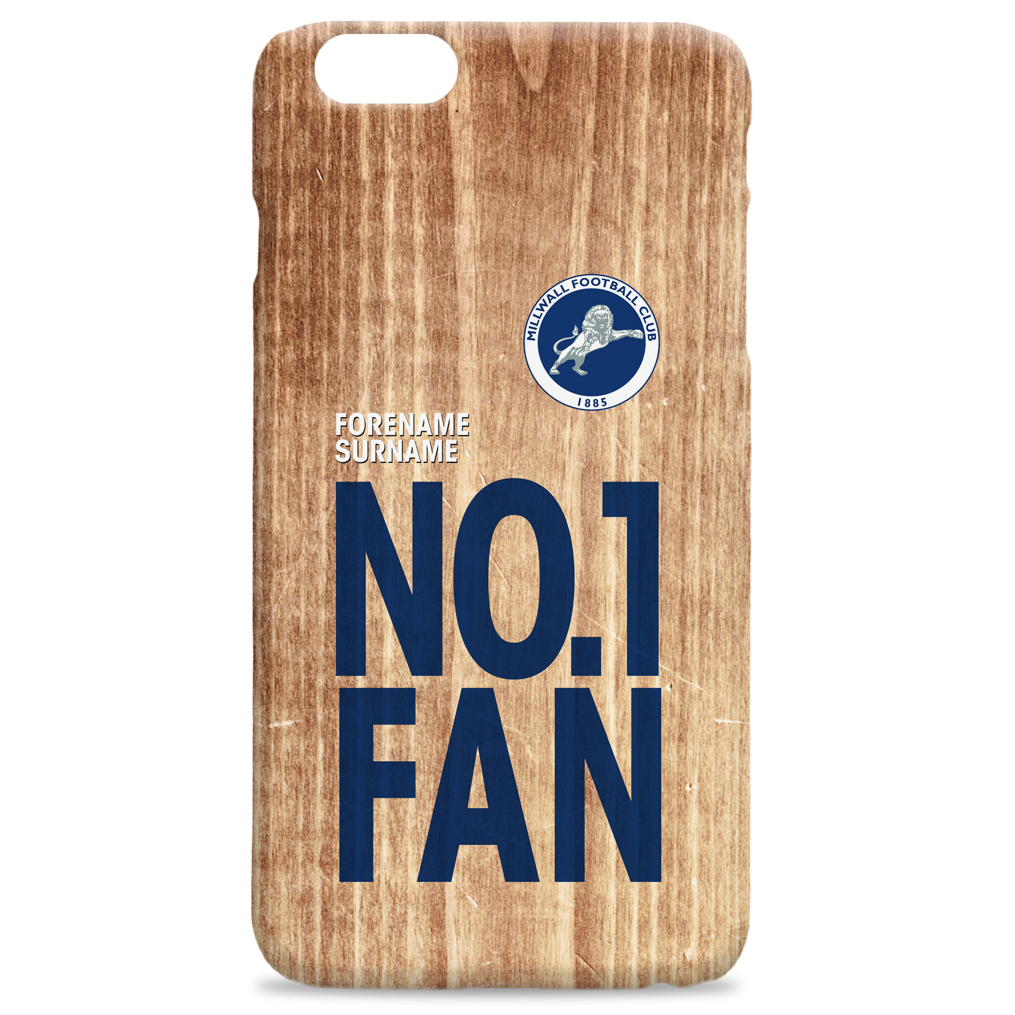 Millwall FC No 1 Fan Hard Back Phone Case