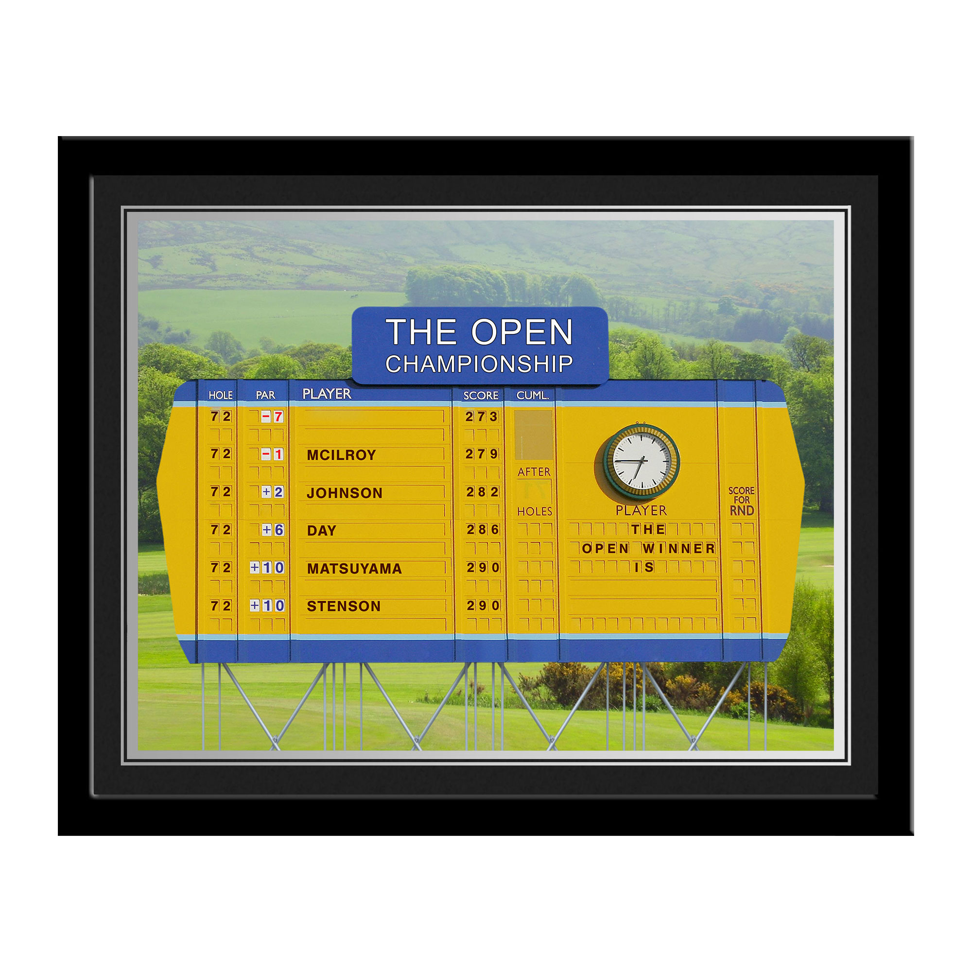Personalised Open Championship Photo Frame