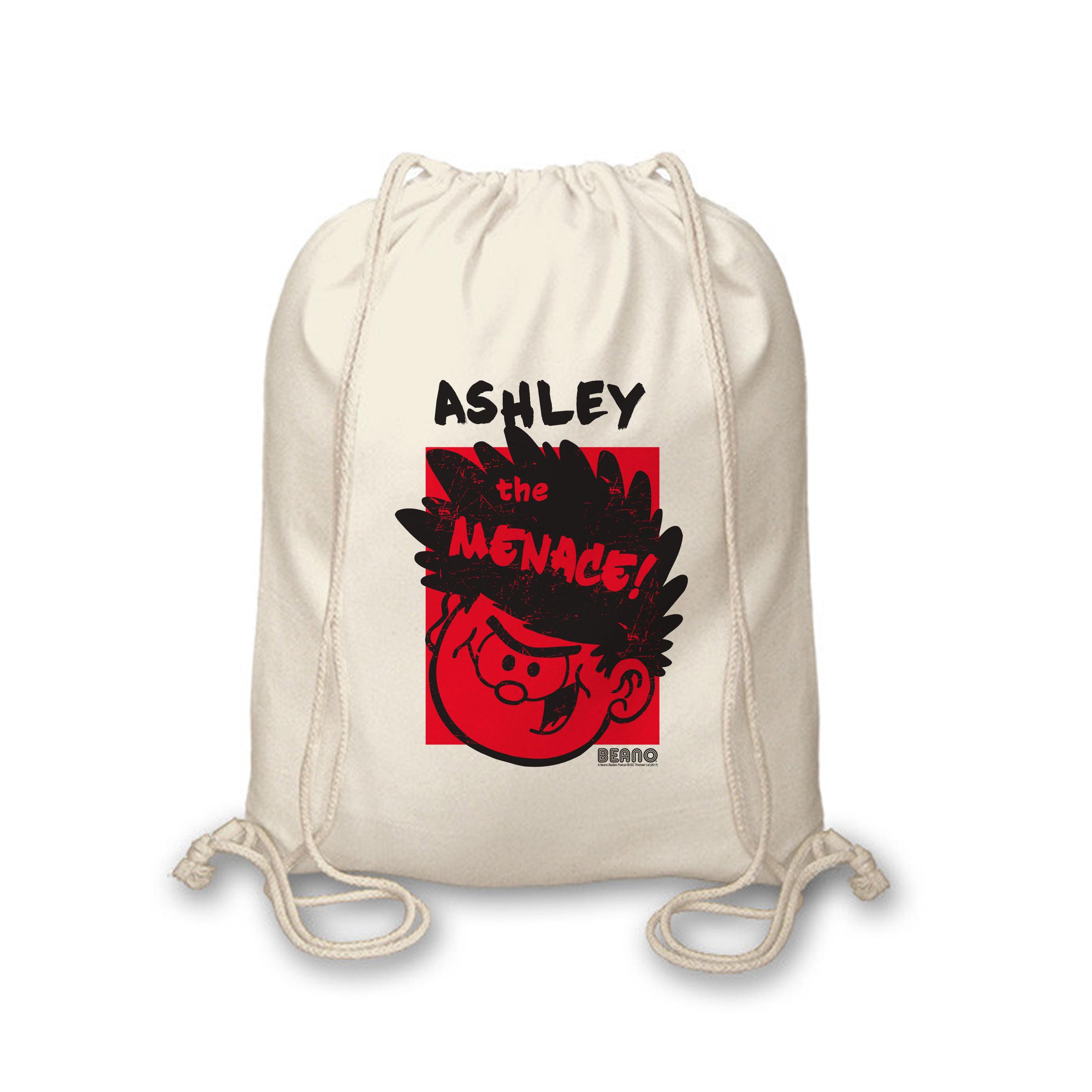 Beano Big Heads Dennis Drawstring Bag