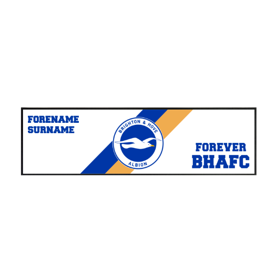 Brighton & Hove Albion FC Forever Large Bar Runner