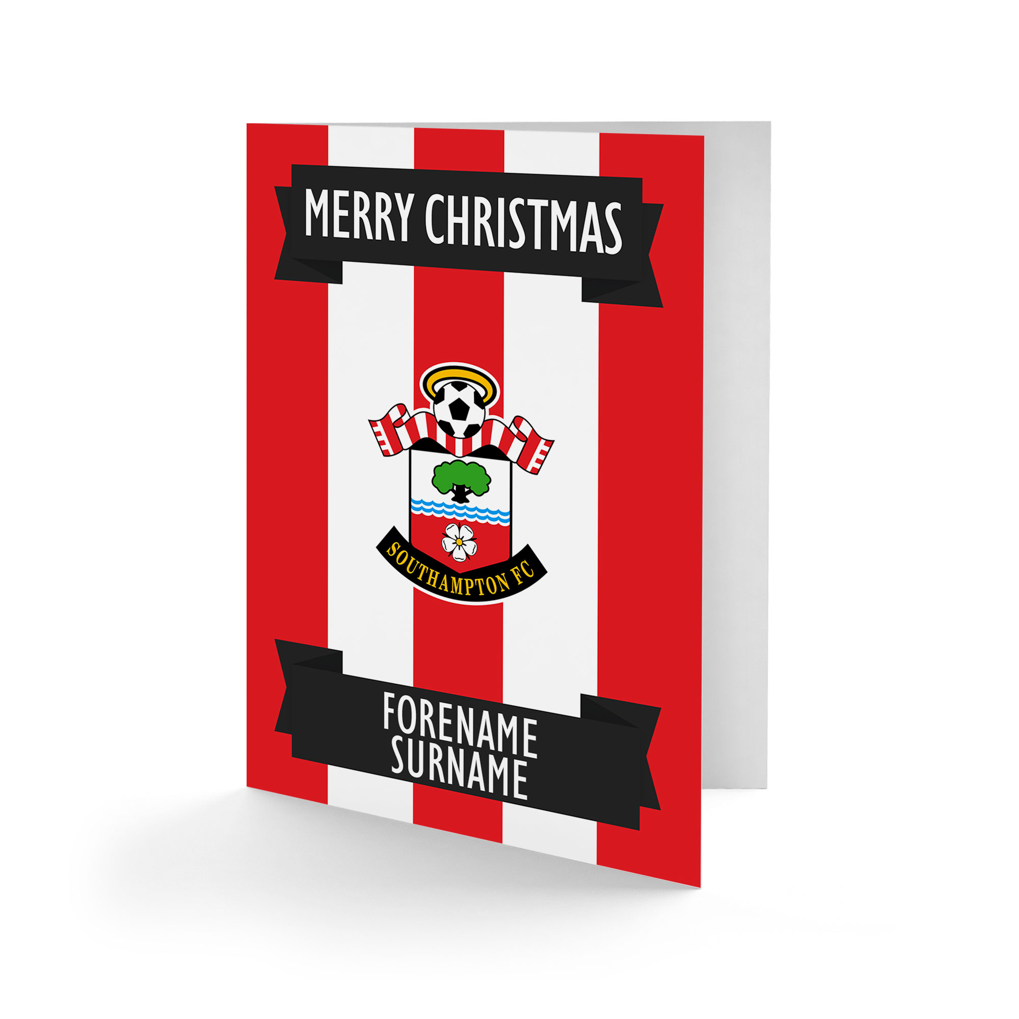 Southampton FC Crest Christmas Card