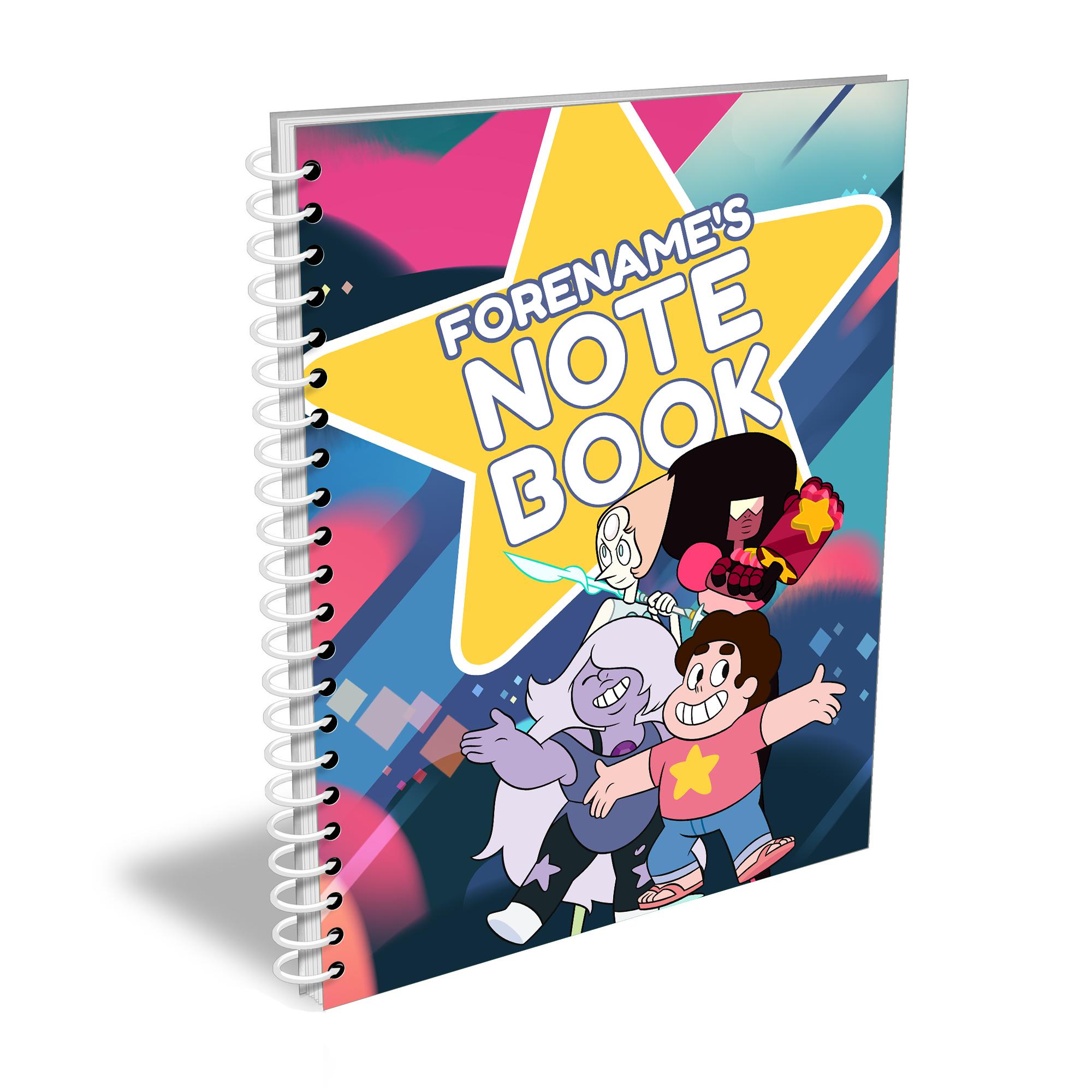 Steven Universe Star Notebook A4 Notebook