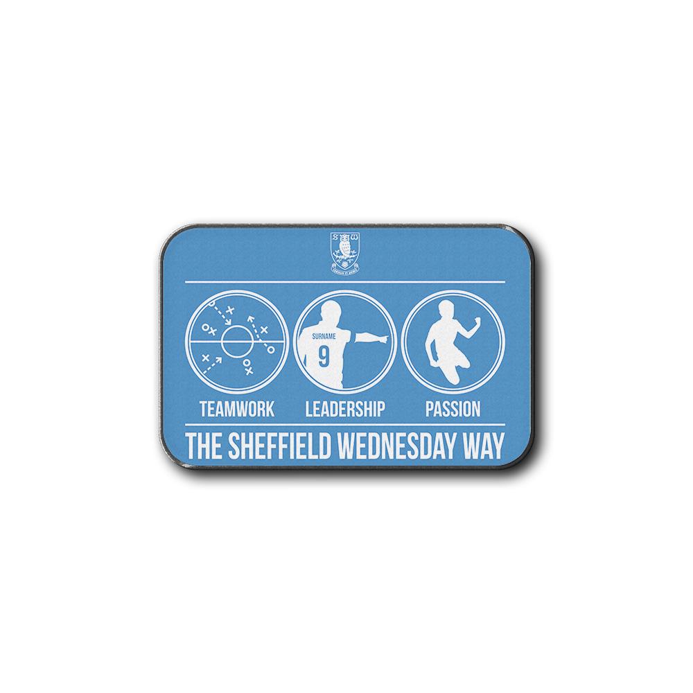 Sheffield Wednesday FC Way Rear Car Mat