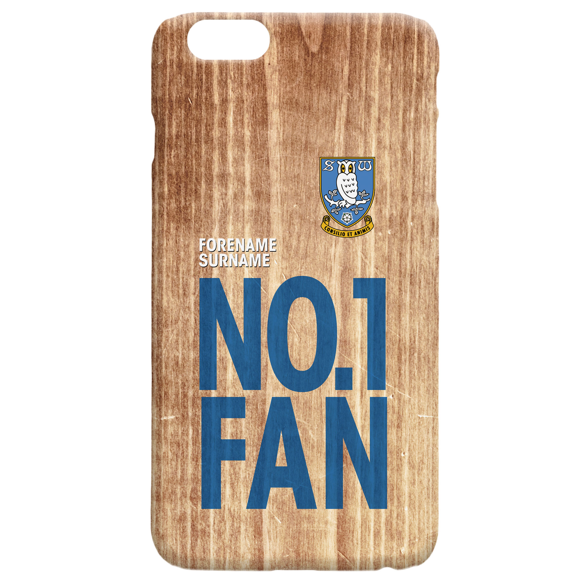 Sheffield Wednesday FC No 1 Fan Hard Back Phone Case