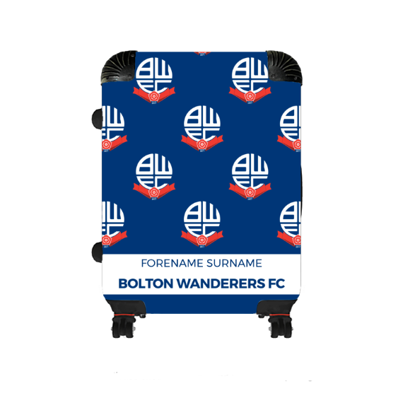 Bolton Wanderers FC Mini Crest Medium Suitcase