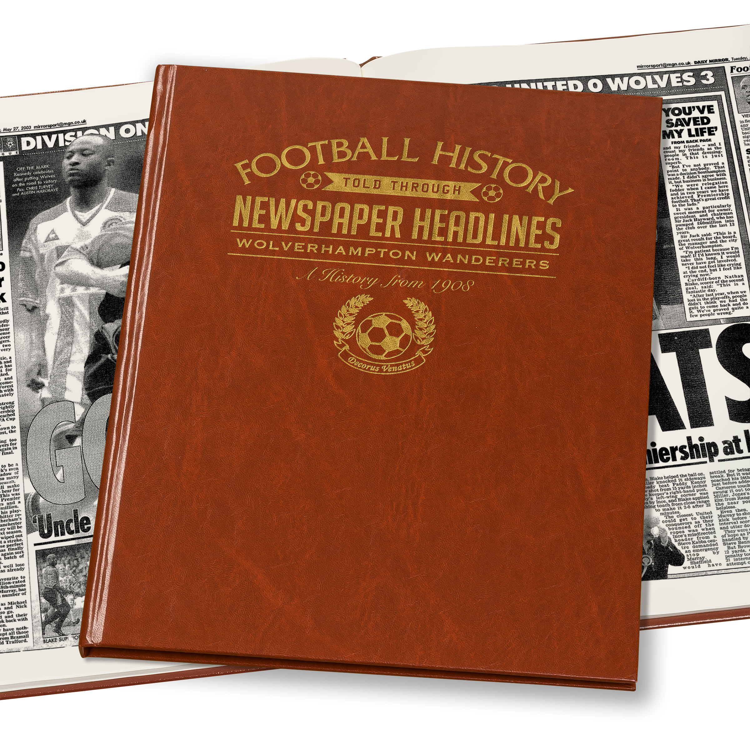 Wolves Newspaper Book