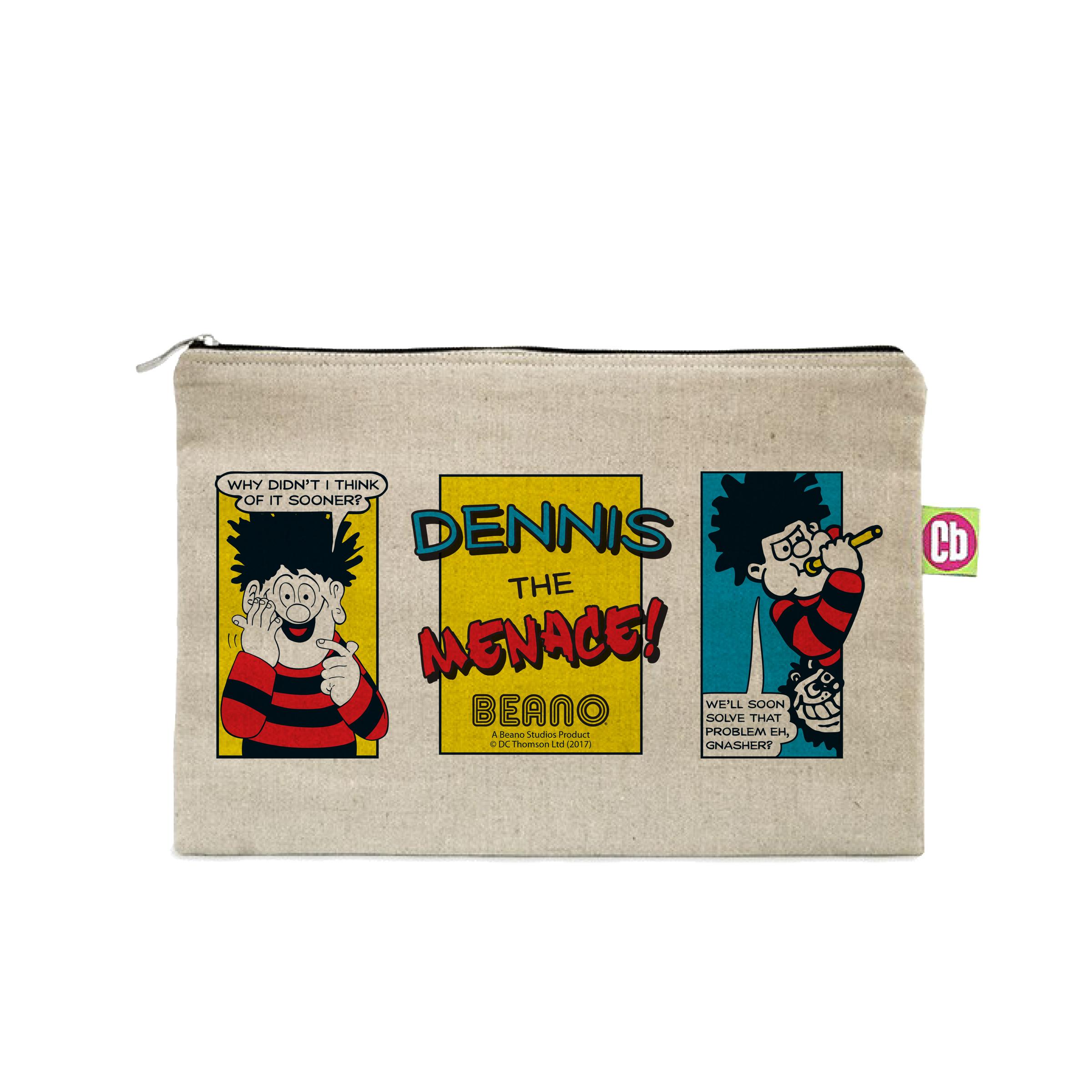 Beano Classic Comic Strip Problem Solved Canvas Pencil Case
