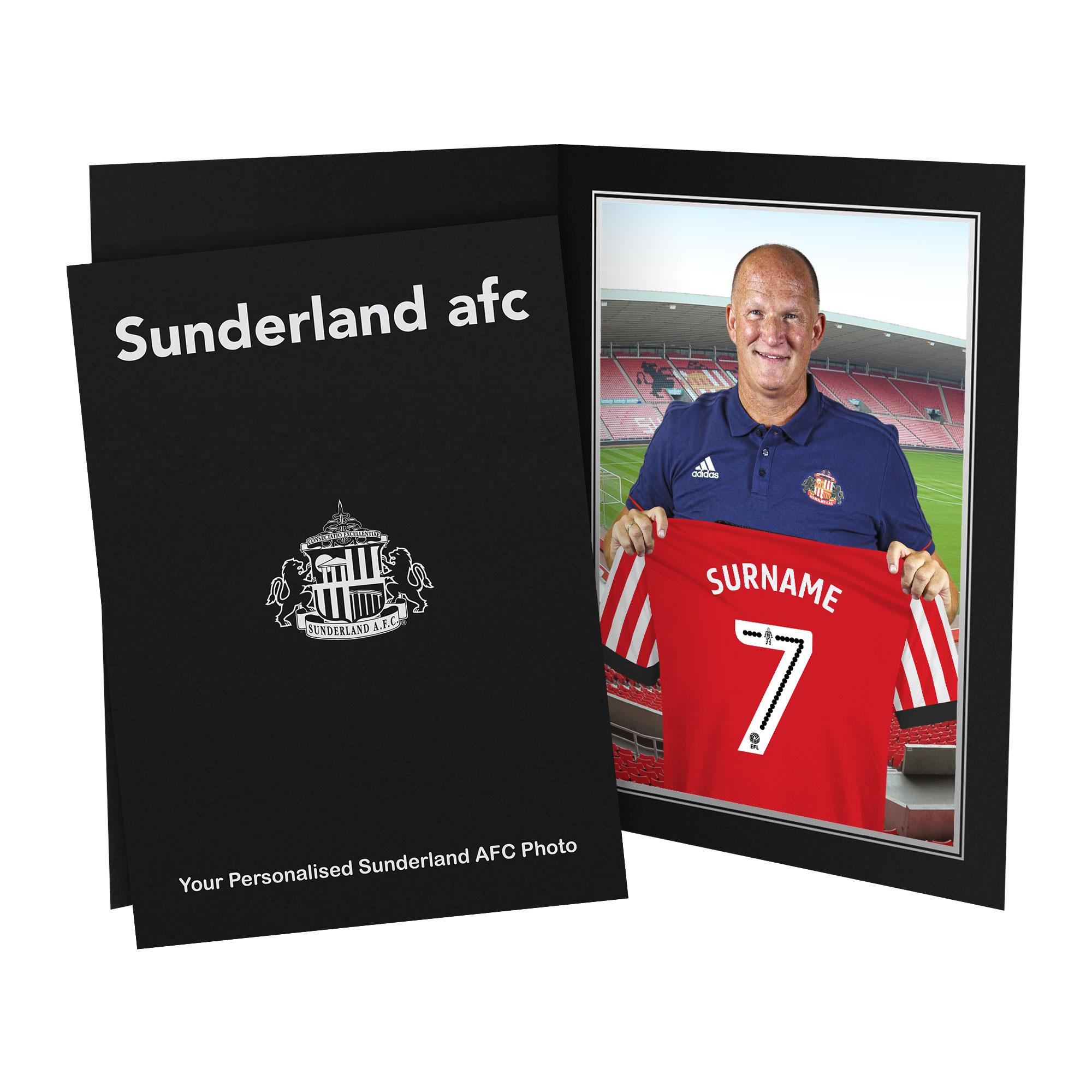 Sunderland AFC 9x6 Manager Photo Folder