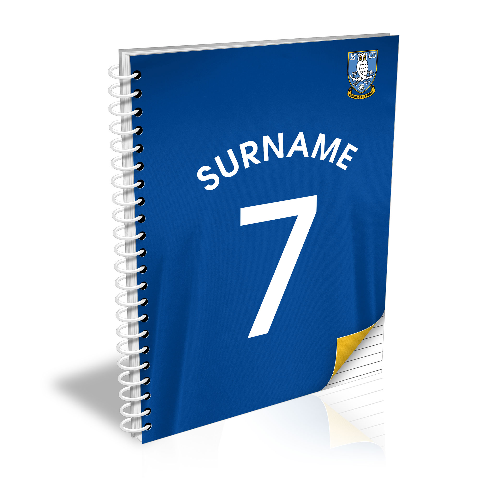 Sheffield Wednesday FC Shirt Notebook