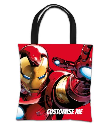 Marvel Avengers Assemble Iron Man Tote Bag