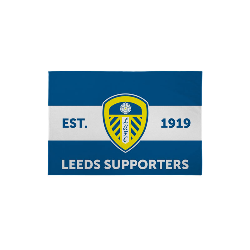 Leeds United FC Supporters 3ft x 2ft Banner