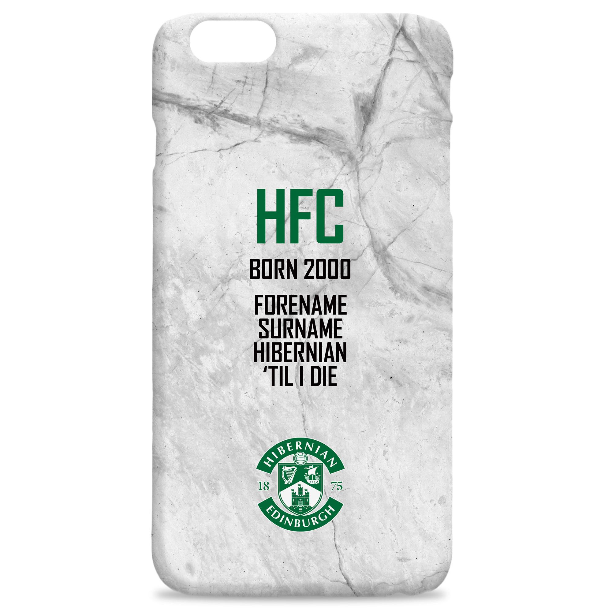 Hibernian FC 'Til I Die Hard Back Phone Case