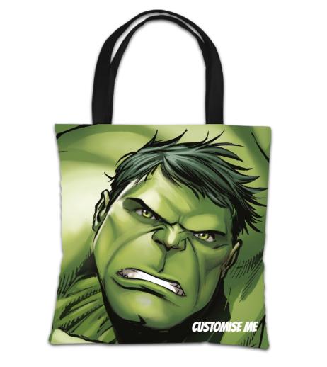 Marvel Avengers Assemble The Hulk Tote Bag