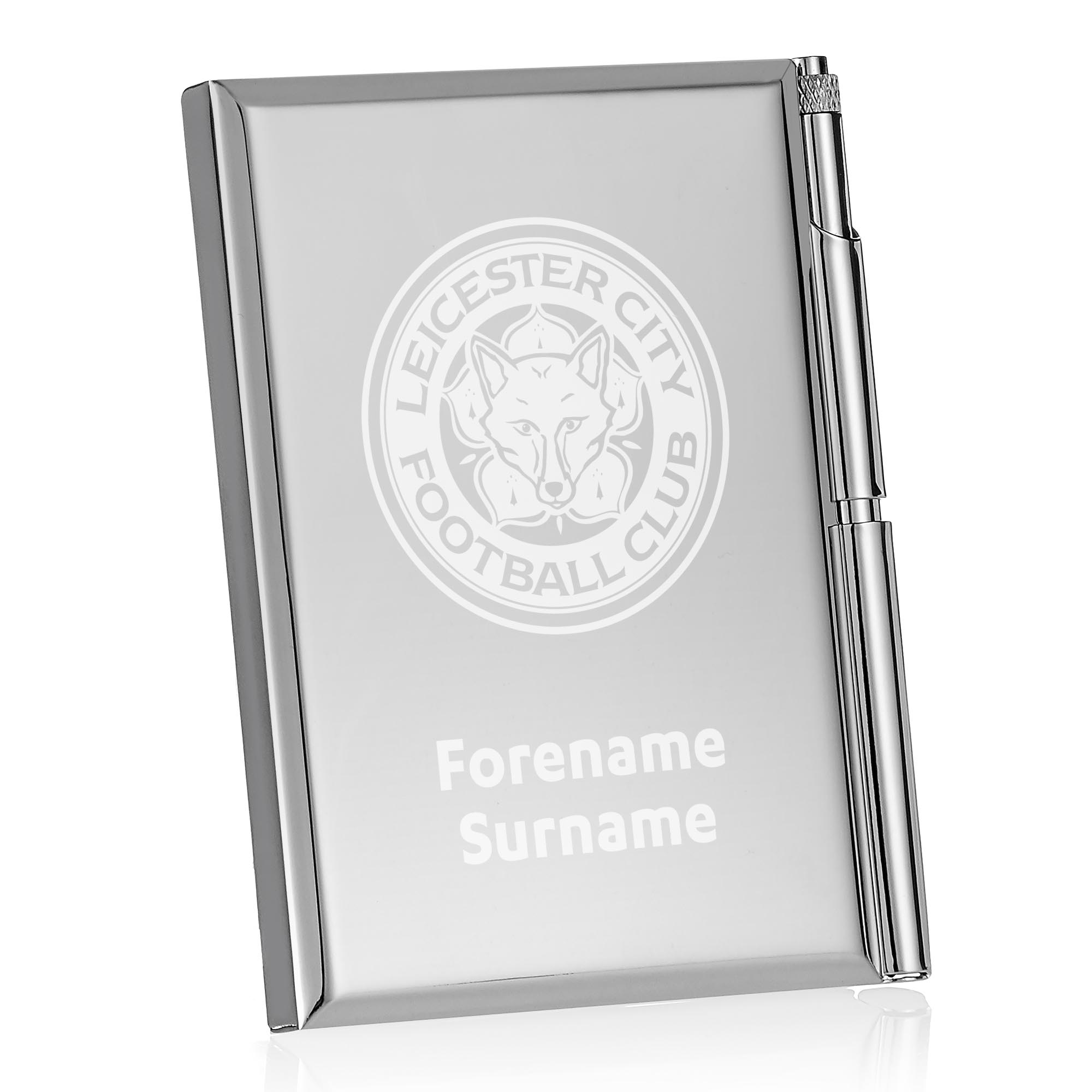 Leicester City FC Crest Address Book