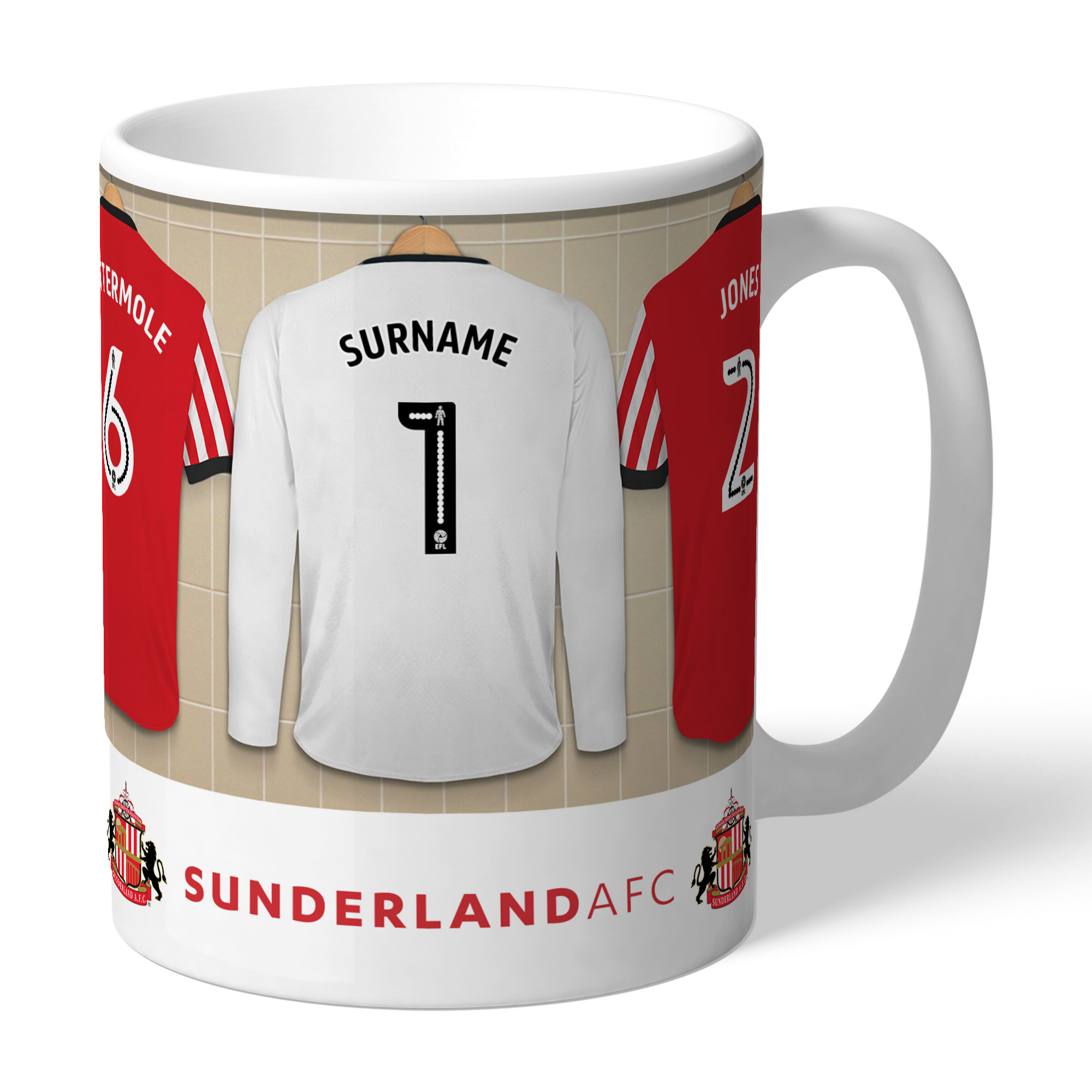 Sunderland AFC Goalkeeper Dressing Room Mug