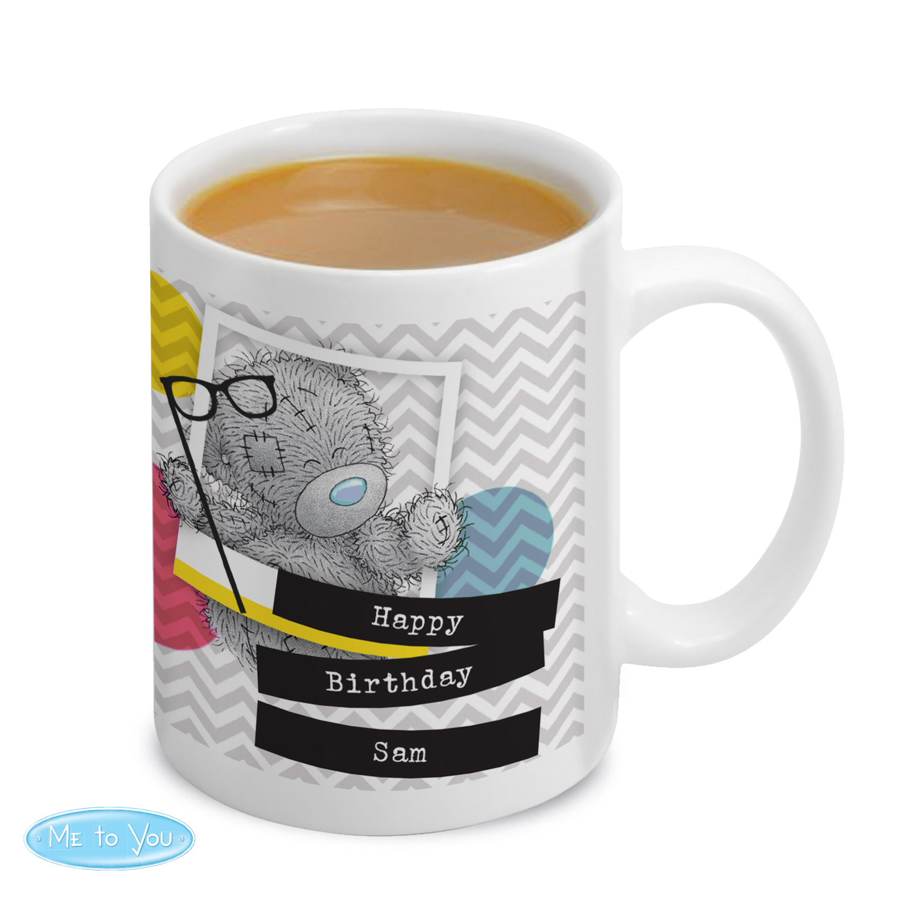 Personalised Me to You Trendy Snapshot Mug