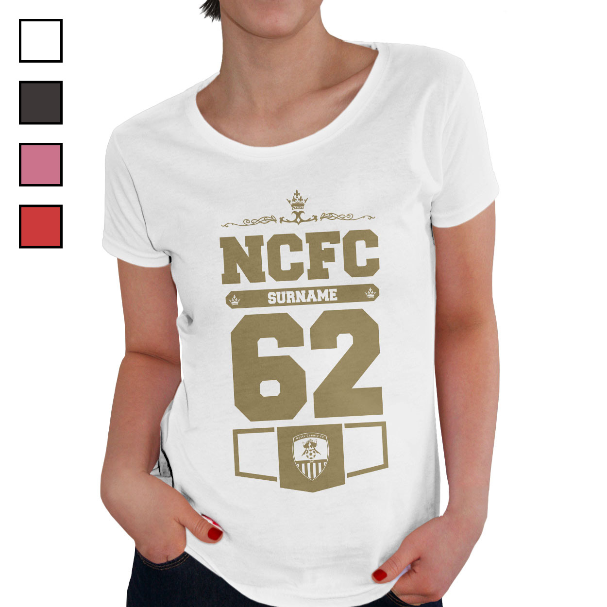 Notts County FC Ladies Club T-Shirt