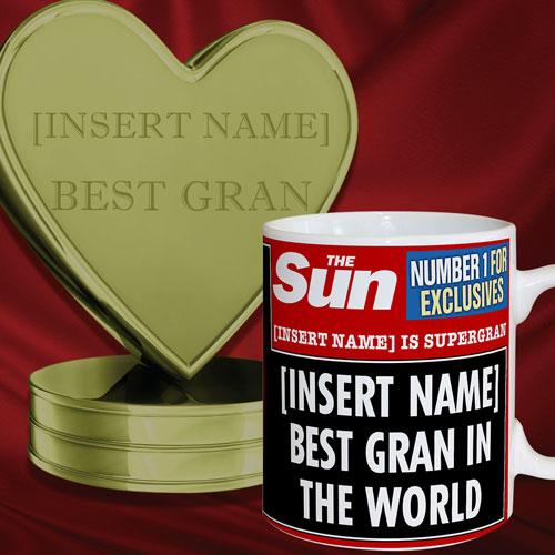 The Sun Best Gran Mug