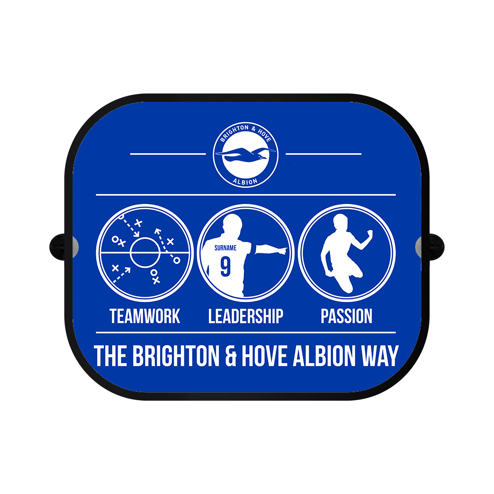 Brighton & Hove Albion FC Way Car Sunshade