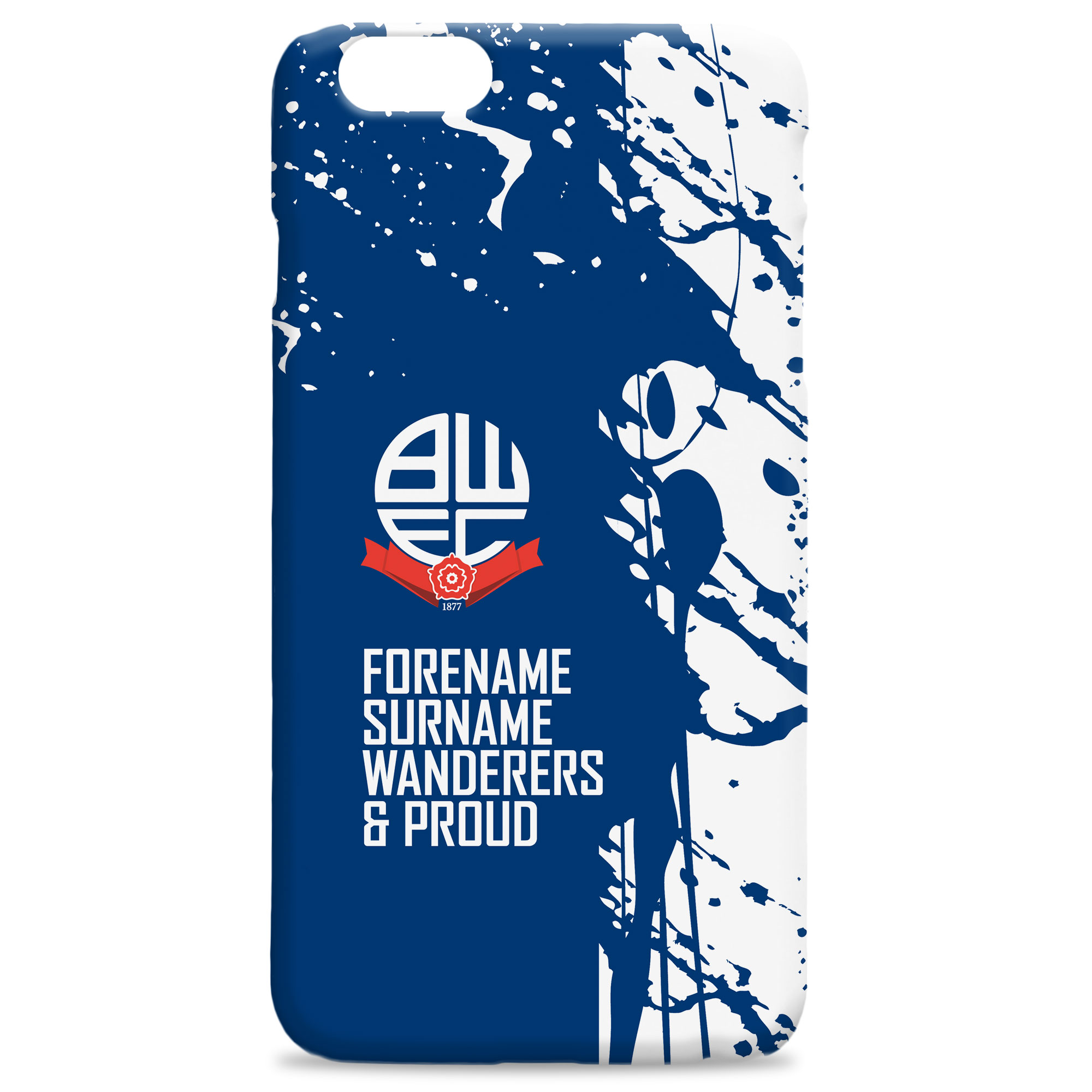 Bolton Wanderers FC Proud Hard Back Phone Case