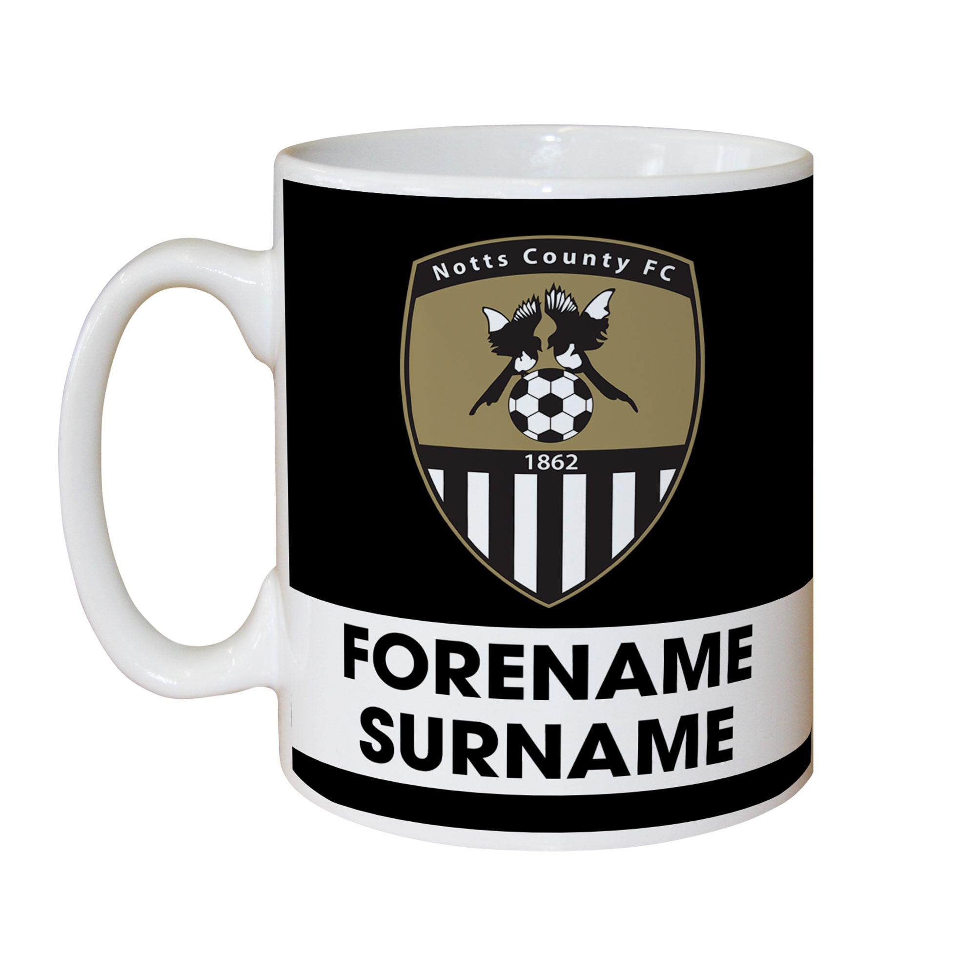 Notts County FC Eat Sleep Drink Mug
