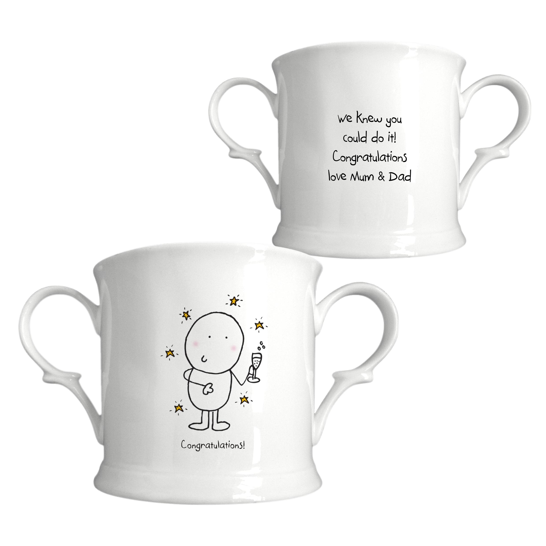 Chilli & Bubbles Congratulations Loving Cup