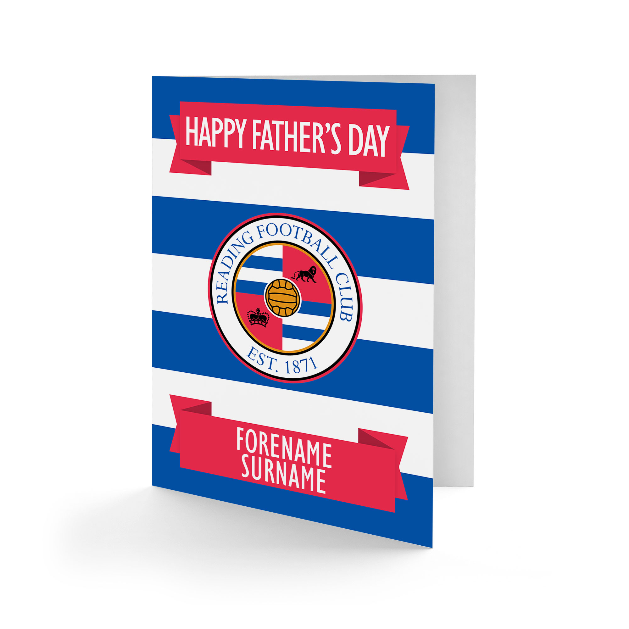 Reading FC Crest Father's Day Card