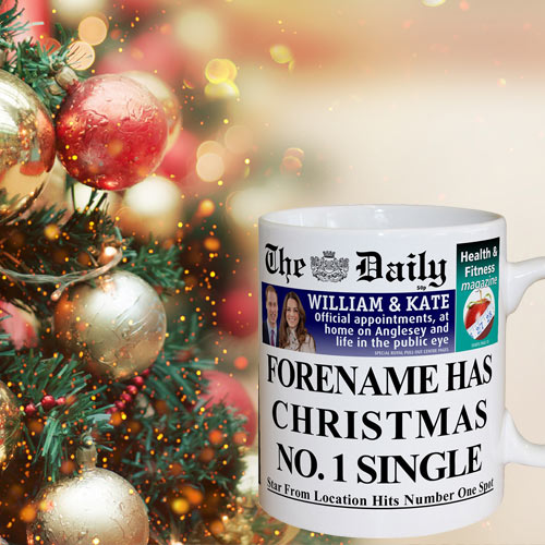 The Daily Christmas Number One Mug