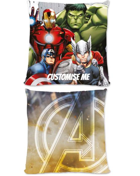 Marvel Avengers Assemble Group Scene Large Fiber Cushion