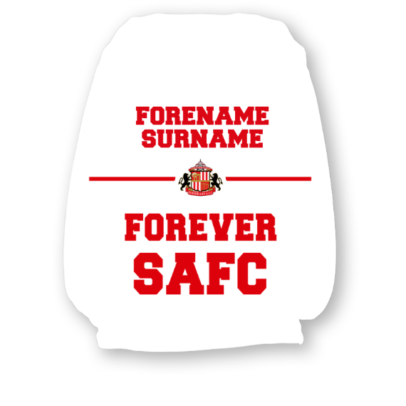 Sunderland Forever Headrest Cover