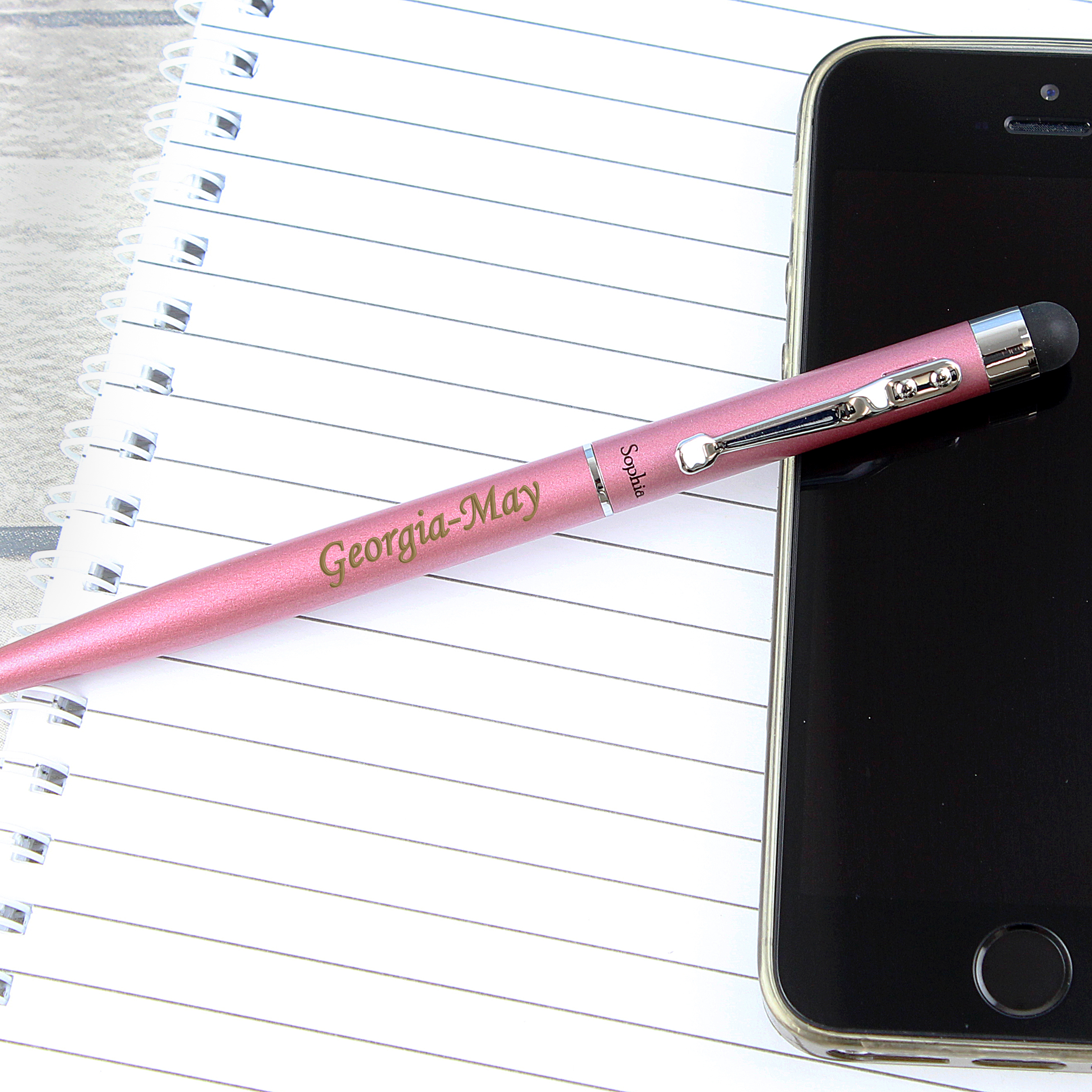 Engraved Pink Pen