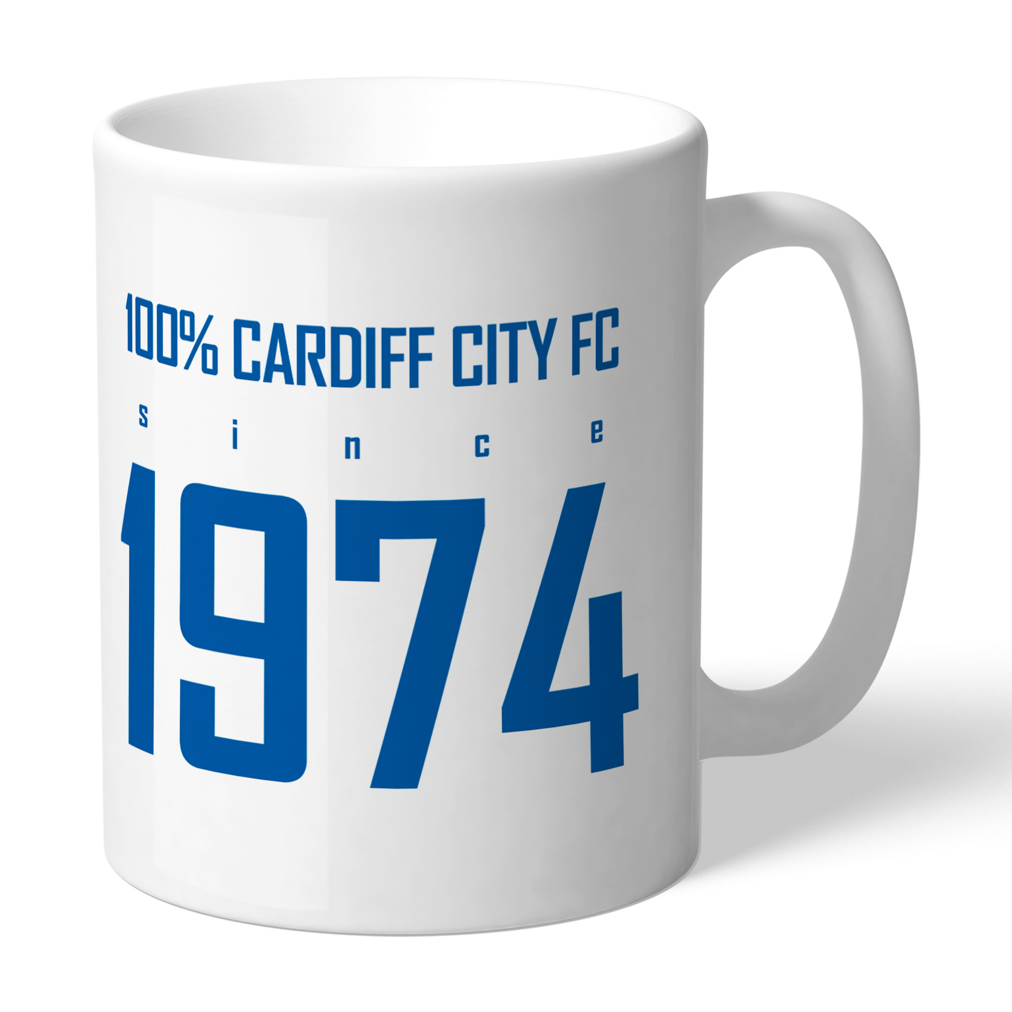 Cardiff City FC 100 Percent Mug