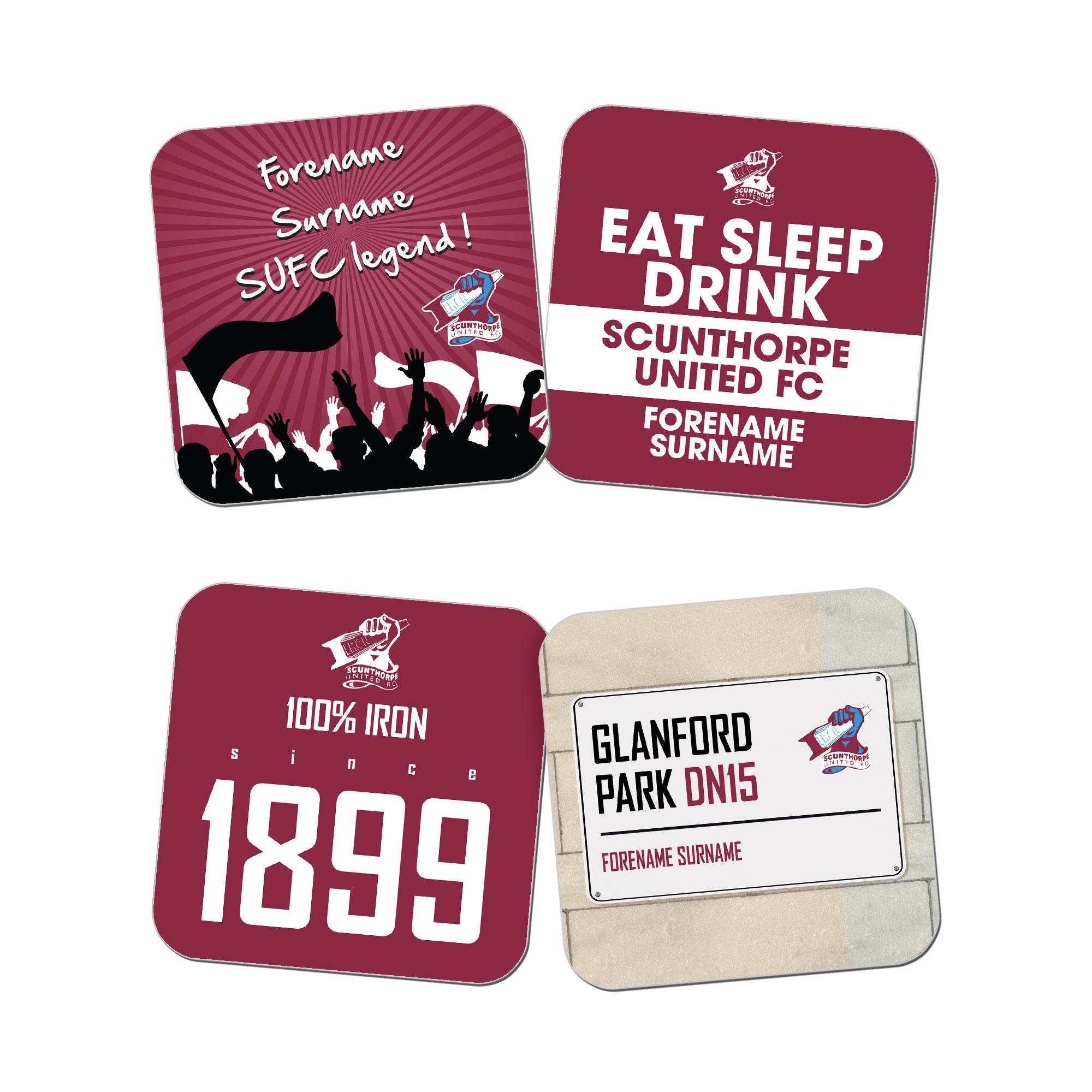 Scunthorpe United FC Coasters