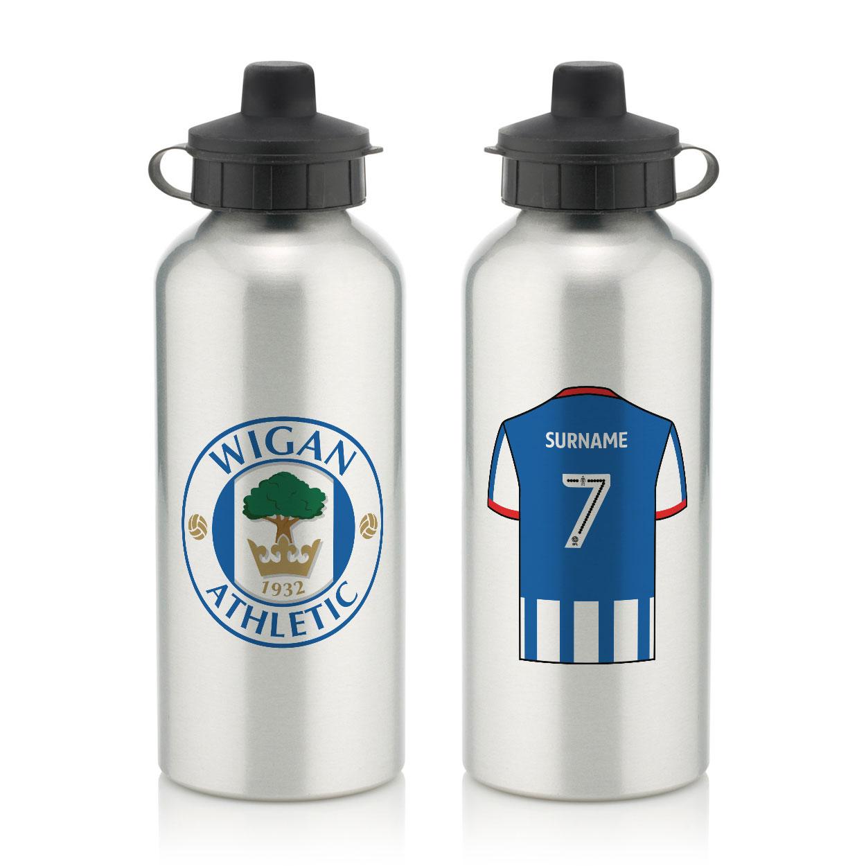 Wigan Athletic FC Aluminium Water Bottle